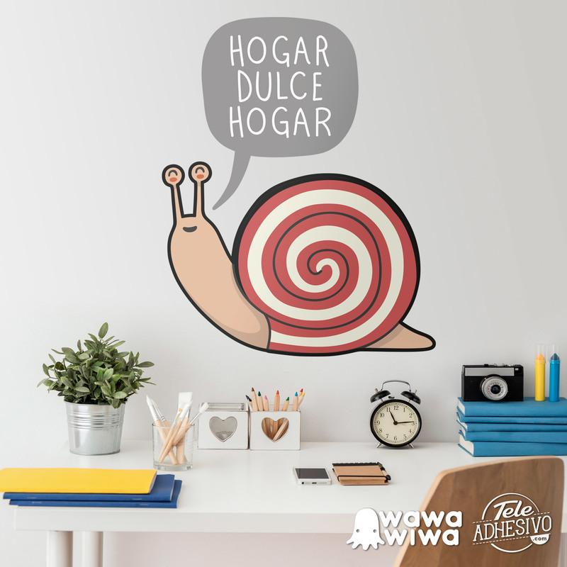 Stickers for Kids: Snail Home sweet home
