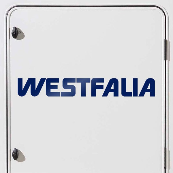 Car & Motorbike Stickers: Westfalia 1