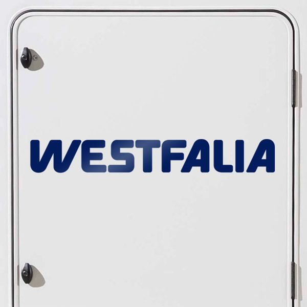 Car & Motorbike Stickers: Westfalia 2