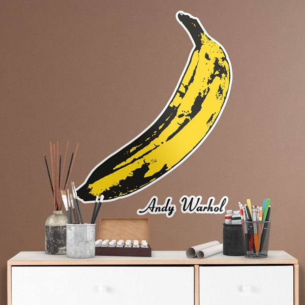 Wall Stickers: Warhol's banana