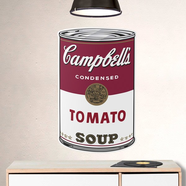 Wall Stickers: Campbells condensed