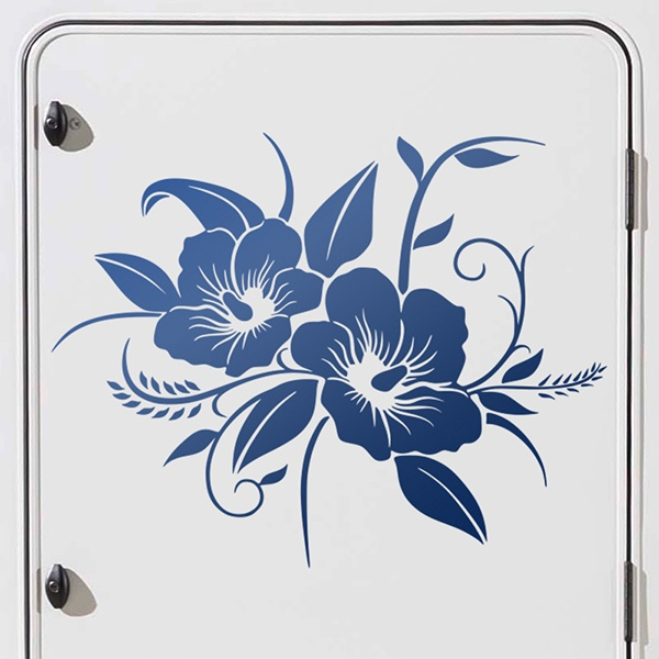 Car & Motorbike Stickers: Orchids