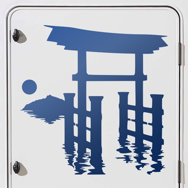 Car & Motorbike Stickers: Japanese door