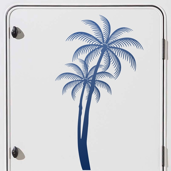 Car and Motorbike Stickers: Palms