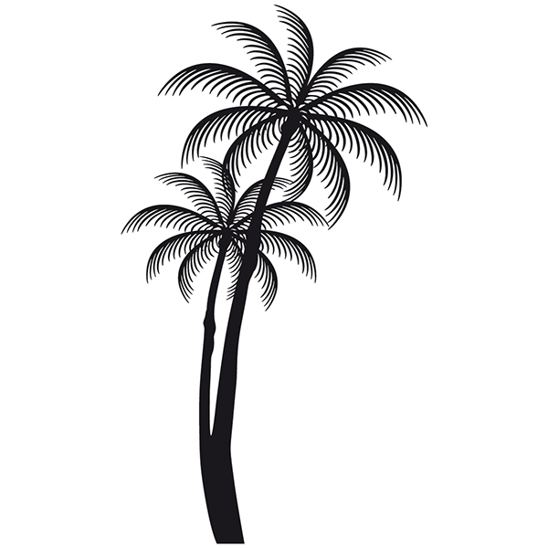Car & Motorbike Stickers: Palms