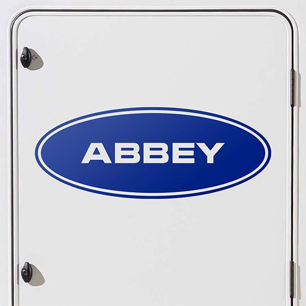 Car & Motorbike Stickers: Abbey