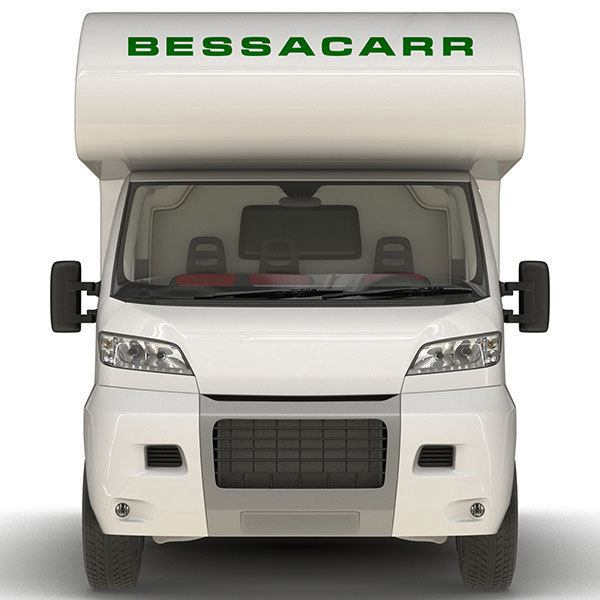 Car & Motorbike Stickers: Bessacarr
