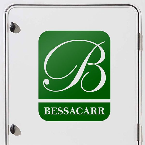 Car & Motorbike Stickers: Bessacarr - Logo