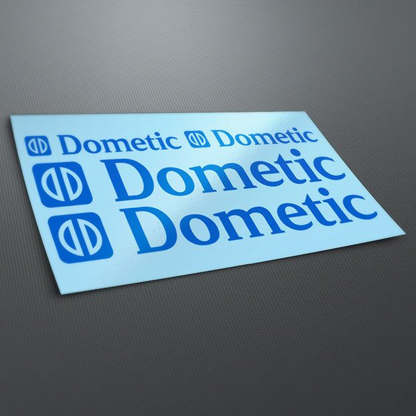 Car & Motorbike Stickers: Kit Dometic
