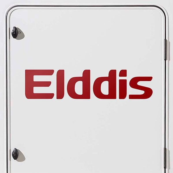 Car & Motorbike Stickers: Elddis