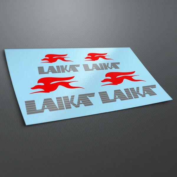 Car & Motorbike Stickers: Kit Laika
