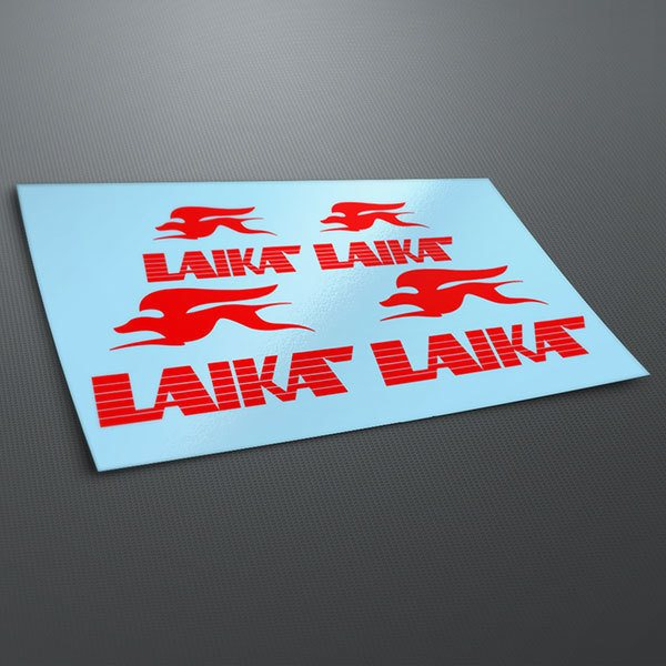 Car & Motorbike Stickers: Kit Laika Emblem