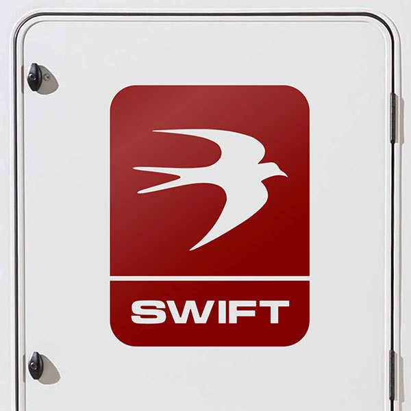 Car & Motorbike Stickers: Swift Leisure