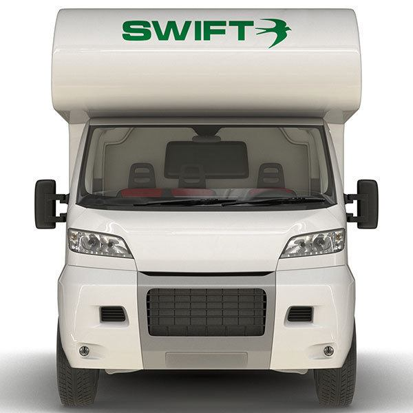 Car & Motorbike Stickers: Swift Logo
