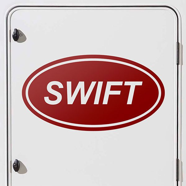 Car & Motorbike Stickers: Swift