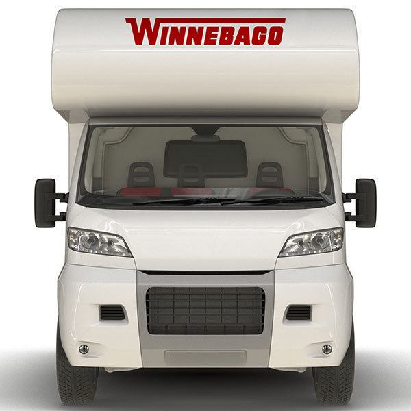 Car & Motorbike Stickers: Winnebago