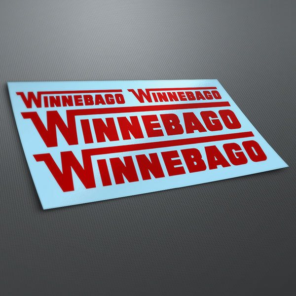 Car & Motorbike Stickers: Kit Winnebago