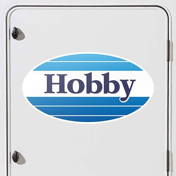 Car & Motorbike Stickers: Hobby Logo