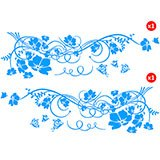 Car & Motorbike Stickers: Great Floral Road 2