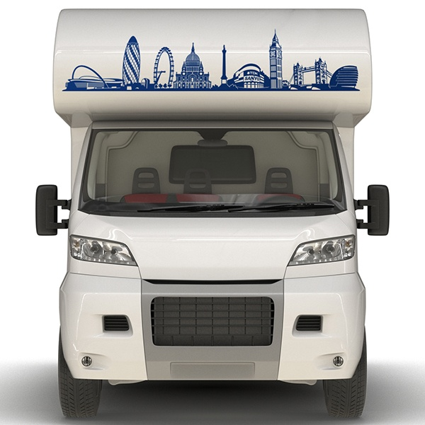 Car & Motorbike Stickers: Camping London