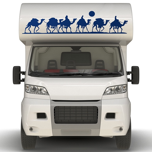 Car & Motorbike Stickers: Bedouins in the desert