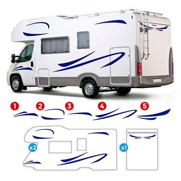 Car & Motorbike Stickers: Saturn Caravan Kit 0