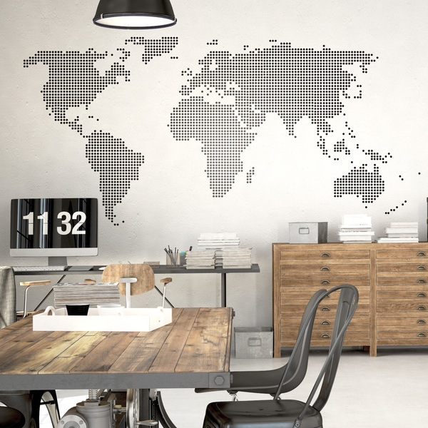Wall Stickers: worldpoint