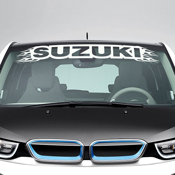 Car & Motorbike Stickers: Suzuki Windshield Sunstrip