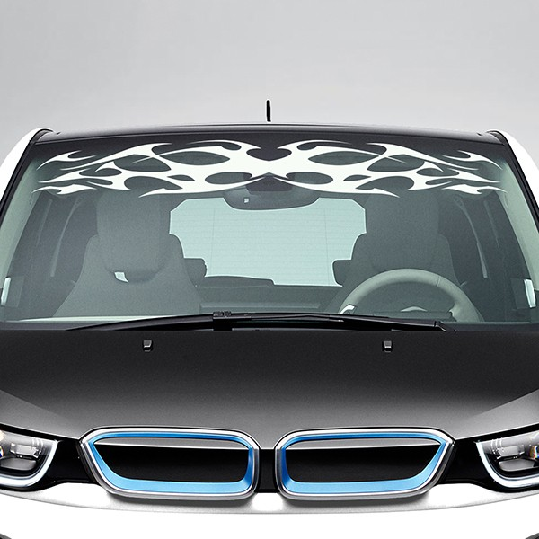 Car & Motorbike Stickers: Tribal Windshield Sunstrip 1
