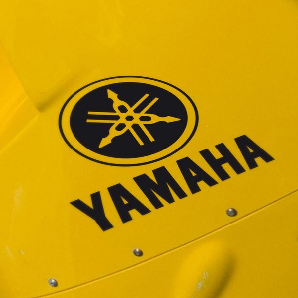 Car & Motorbike Stickers: Yamaha VIII