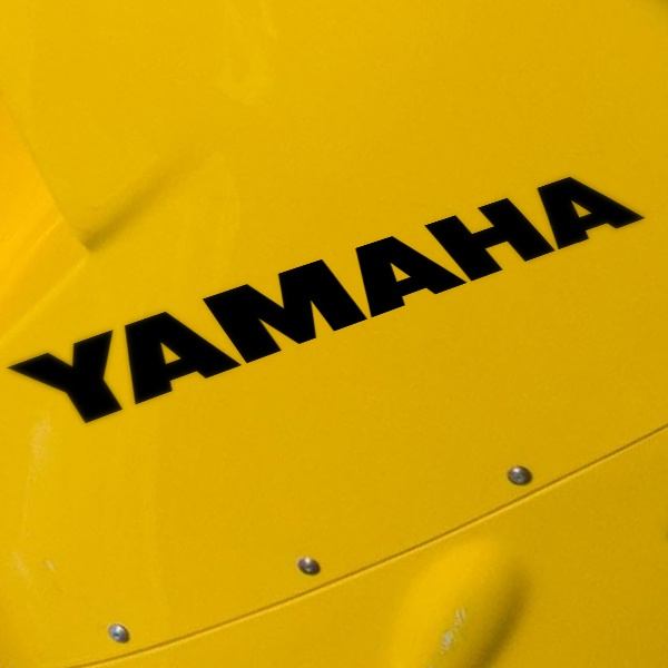 Car & Motorbike Stickers: Yamaha VI
