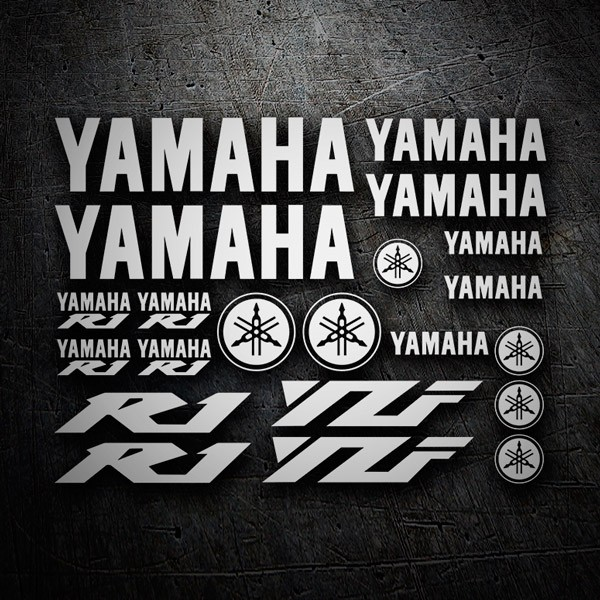Car & Motorbike Stickers: Kit Yamaha R1