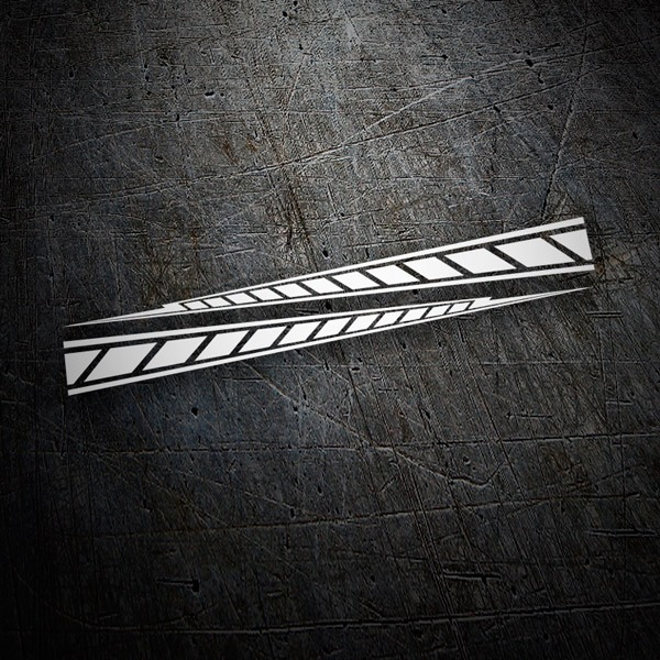 Car & Motorbike Stickers: Yamaha M1 stripes