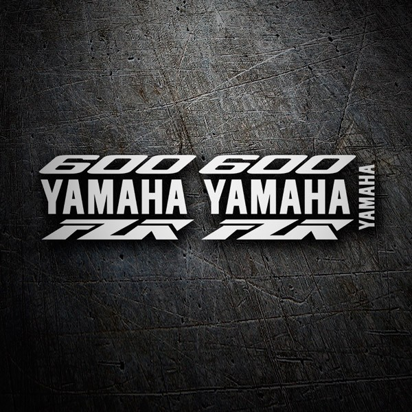 Car & Motorbike Stickers: Kit Yamaha FZR 600 custom II