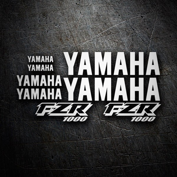 Car and Motorbike Stickers: FZR 1000 1998