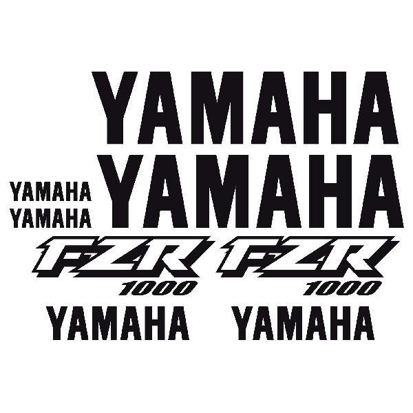 Sticker Yamaha Fzr 1000 1998 Muraldecalcom