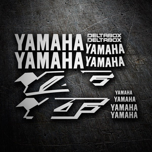 Car and Motorbike Stickers: YZF 600 1997-01