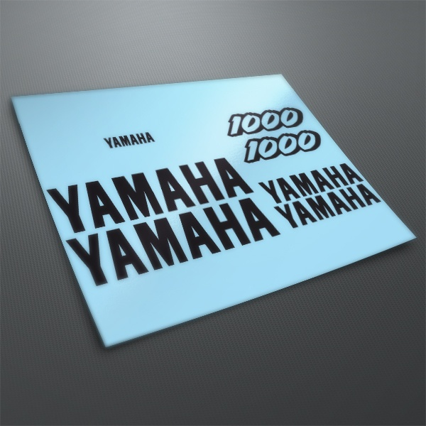Car & Motorbike Stickers: Kit Yamaha YZF 1000 1997