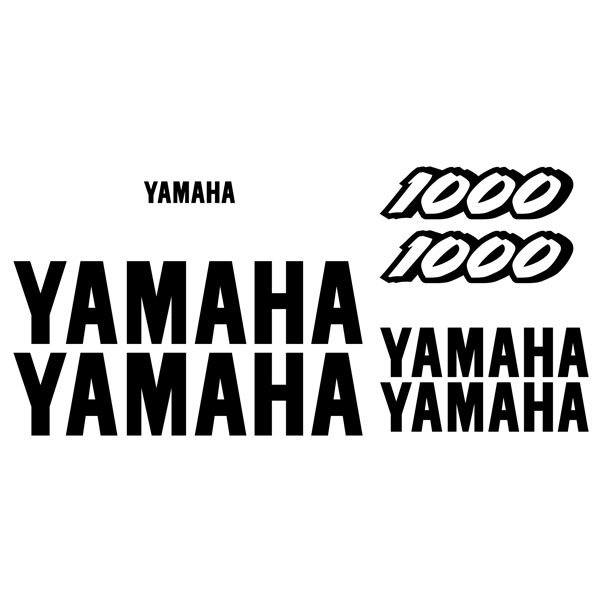 Car and Motorbike Stickers: YZF 1000 1997