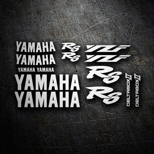 Car & Motorbike Stickers: Kit Yamaha YZF R6 2001