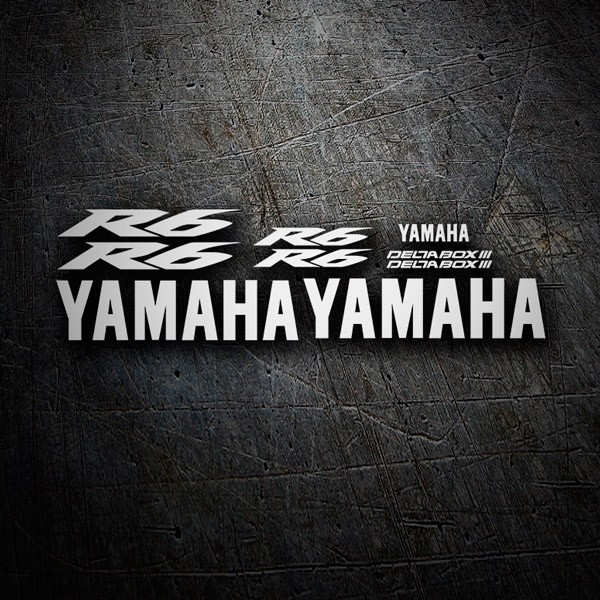Car & Motorbike Stickers: Kit Yamaha YZF R6 2004