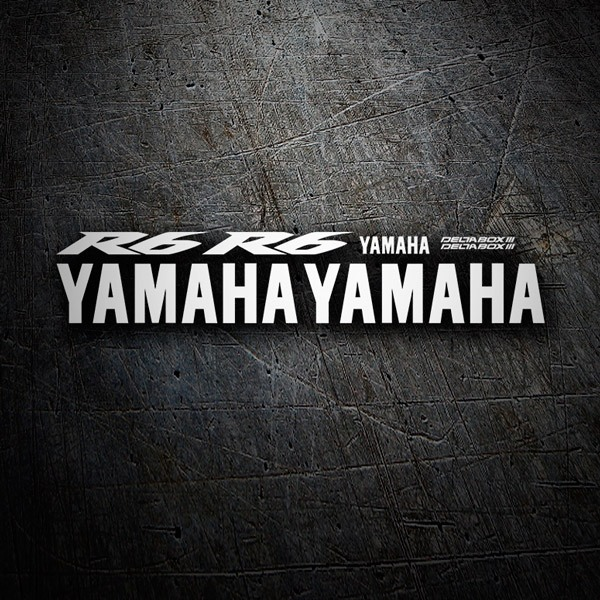 Car & Motorbike Stickers: Kit Yamaha YZF R6 2005