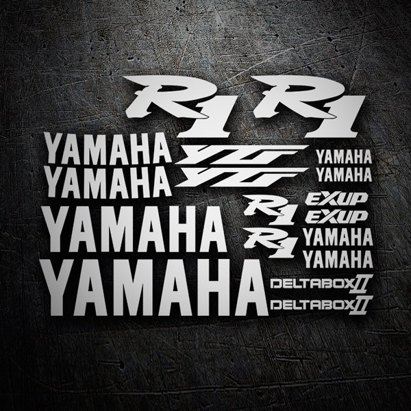 Car & Motorbike Stickers: Kit Yamaha YZF R1 2000