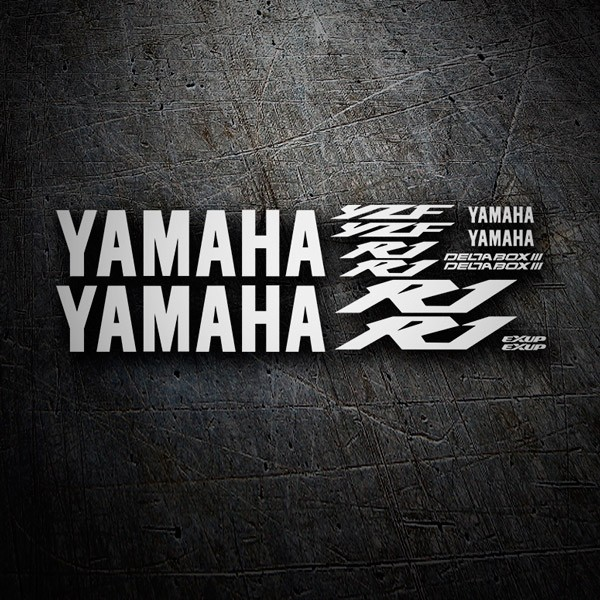 Car & Motorbike Stickers: Kit Yamaha YZF R1 2003