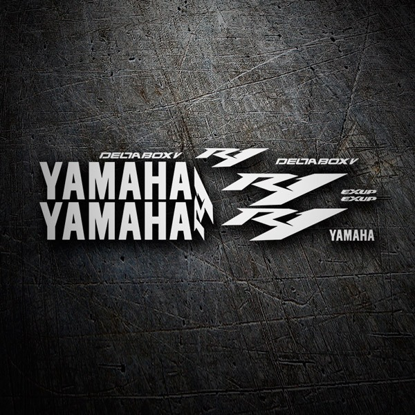 Car & Motorbike Stickers: Kit Yamaha YZF R1 2004