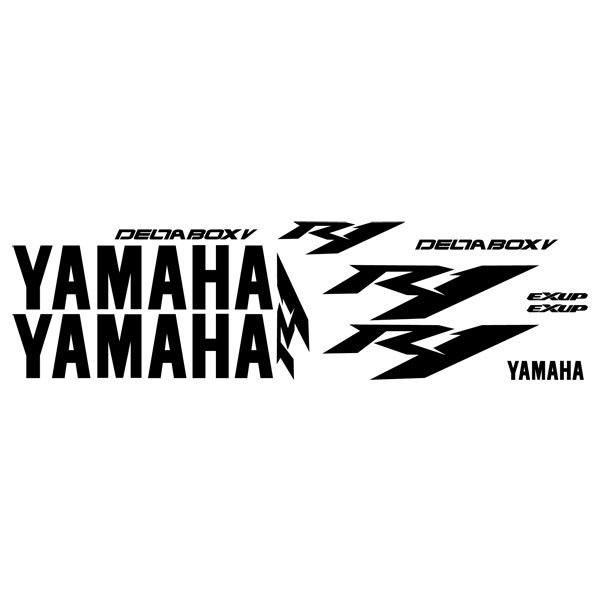 Car and Motorbike Stickers: YZF R1 2004