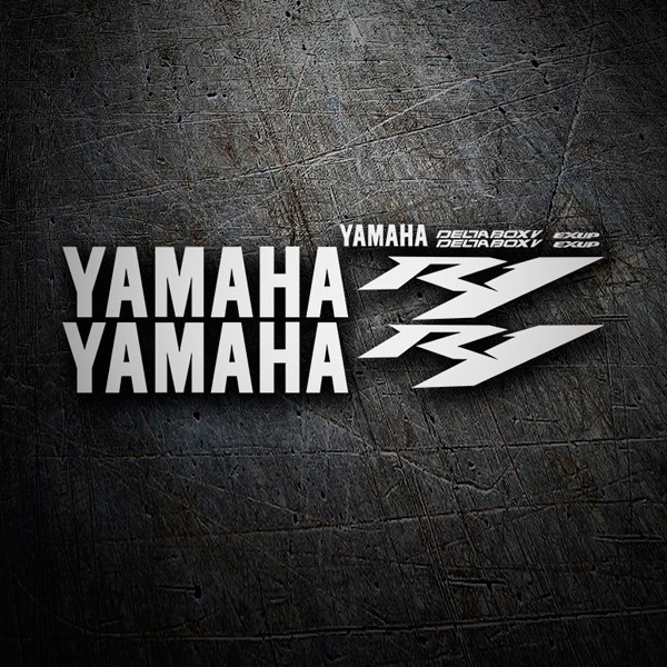 Car & Motorbike Stickers: Kit Yamaha YZF R1 2005