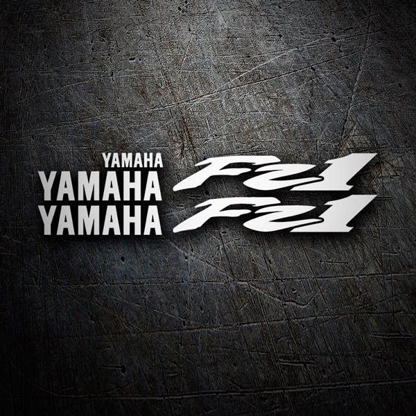 Car & Motorbike Stickers: Kit Yamaha FZ1 2002-03