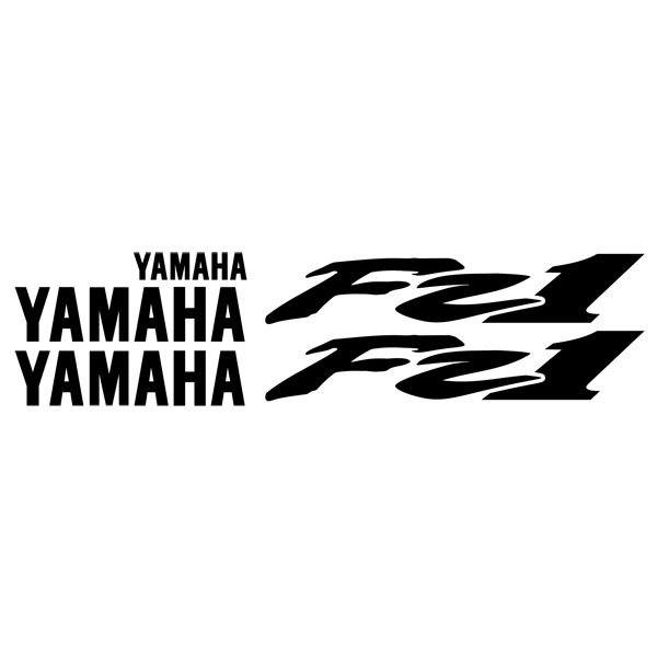 Car and Motorbike Stickers: FZ1 2002-03