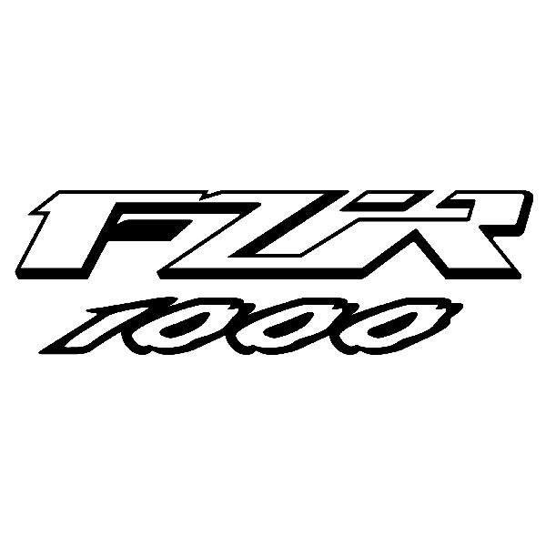 Sticker Yamaha Fzr 1000 Muraldecalcom